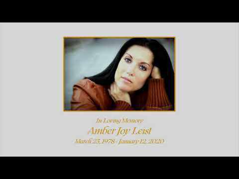 Memorial Services For LASD Detective Amber Leist