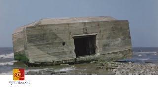 Opruimen Bunkers Flakkee Rond 1950 | Provincie Zuid-Holland