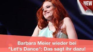 Barbara Meier wieder bei