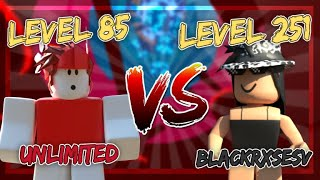 Racing the HIGHEST LEVEL player in TOWER OF HELL (BlackRxsesv)