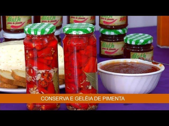 Conserva e Geléia de Pimenta