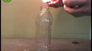 Как Засунуть Яйцо В Бутылку