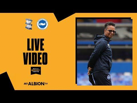 Birmingham City v Brighton & Hove Albion Live!