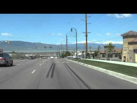 Provo & Salt Lake City, Utah via I-15
