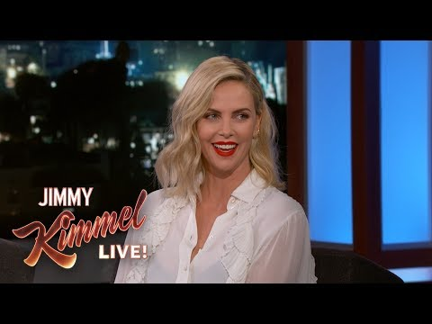Charlize Theron is a NASCAR