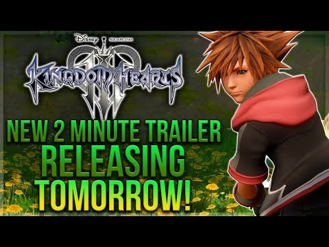 NEW 2 Minute Kingdom Hearts 3 Trailer Releasing Tomorrow, New Images & KH VR Delayed Again!
