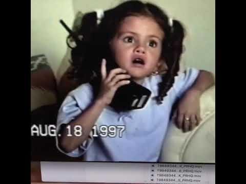 Selena Gomez at 5 years complaining