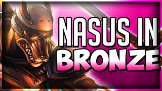 "Nasus ""Nasus Is Hard"" League Of Legends Nasus Top Season 8, Gameplay Funny moments"