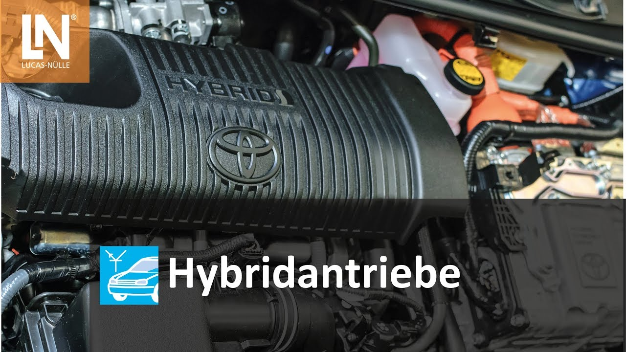 UniTrain Hybriedantriebe von Lucas-Nülle - YouTube