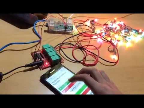 How to Control Christmas Lights Using Raspberry Pi Using Relay With Mains