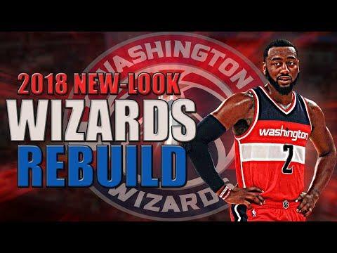 Rebuilding the 2018 Washington Wizards ft. John Wall | NBA 2K17 My League