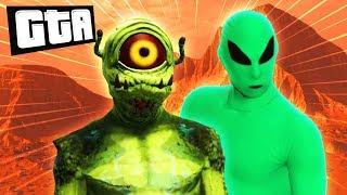 MARTIANS vs EARTHLINGS   GTA 5