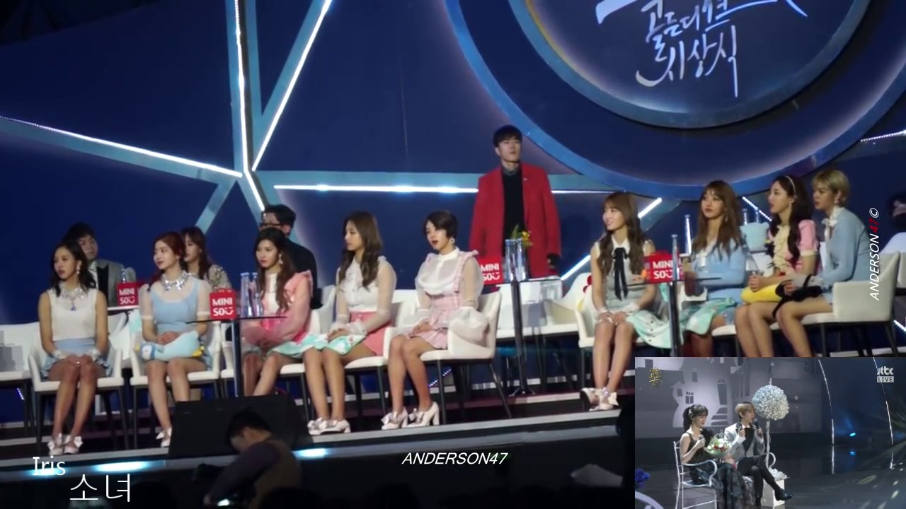 Download TWICE reaction to Baekhyun and Suzy ''Dream'' GDA 2016
