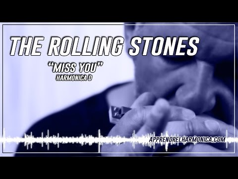 Miss You - The Rolling Stones - Harmonica D