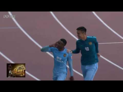 Benjamin Moukandjo Goal | Shanghai SIPG 2X3 Jiangsu Suning FC | CSL 04/11/2017