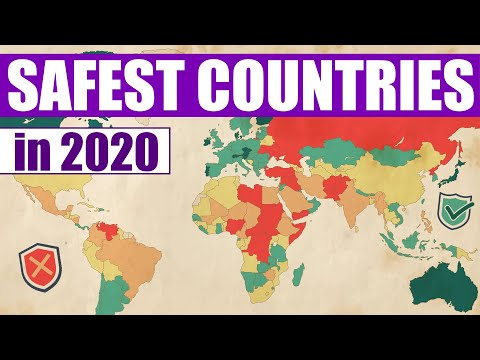 The Safest Countries In The World 2020 Youtube