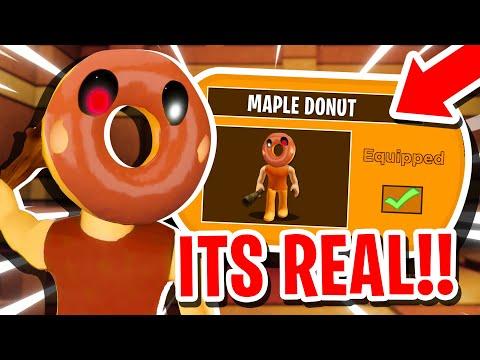 How To UNLOCK MAPLE DONUT SKIN In ROBLOX PIGGY 2 RP!! (SECRET SKIN)