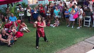Maui Chinese Martial Arts Academy Tai Chi Chuan Fan Set feat. Kuhea
