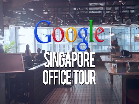Google Singapore Office Tour - Coolest Places in Singapore: Episode 2