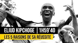 Eliud Kipchoge 1h59'40 !! Les 5 raisons de sa réussite dans la quête des moins de 2h au marathon
