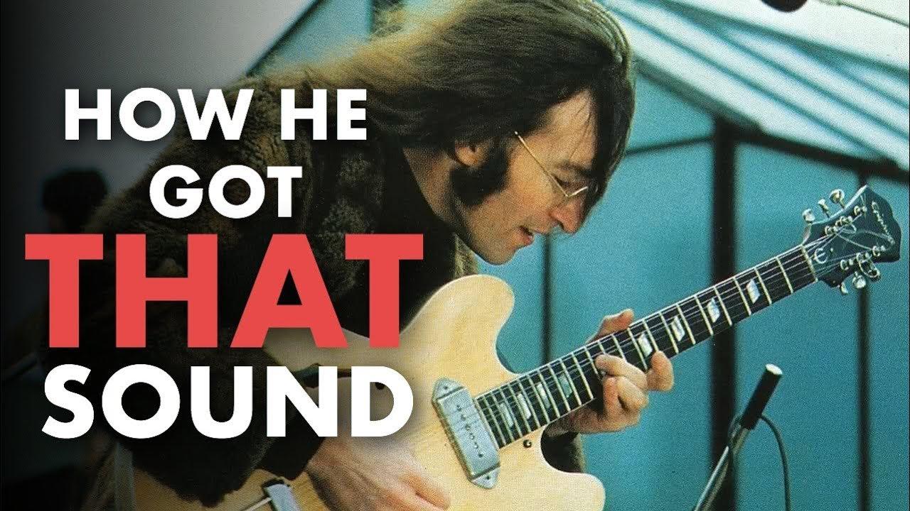 John Lennon S Revolution Guitar Sound Friday Fretworks Youtube