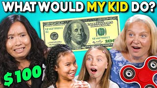Download Parents Try Guessing What Their Kid Will Do For $100 Mp3 and Videos