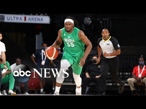 Download Nigeria men's basketball team hopes for Olympic glory