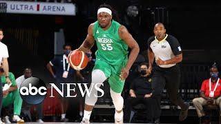 Nigeria men's basketball team hopes for Olympic glory