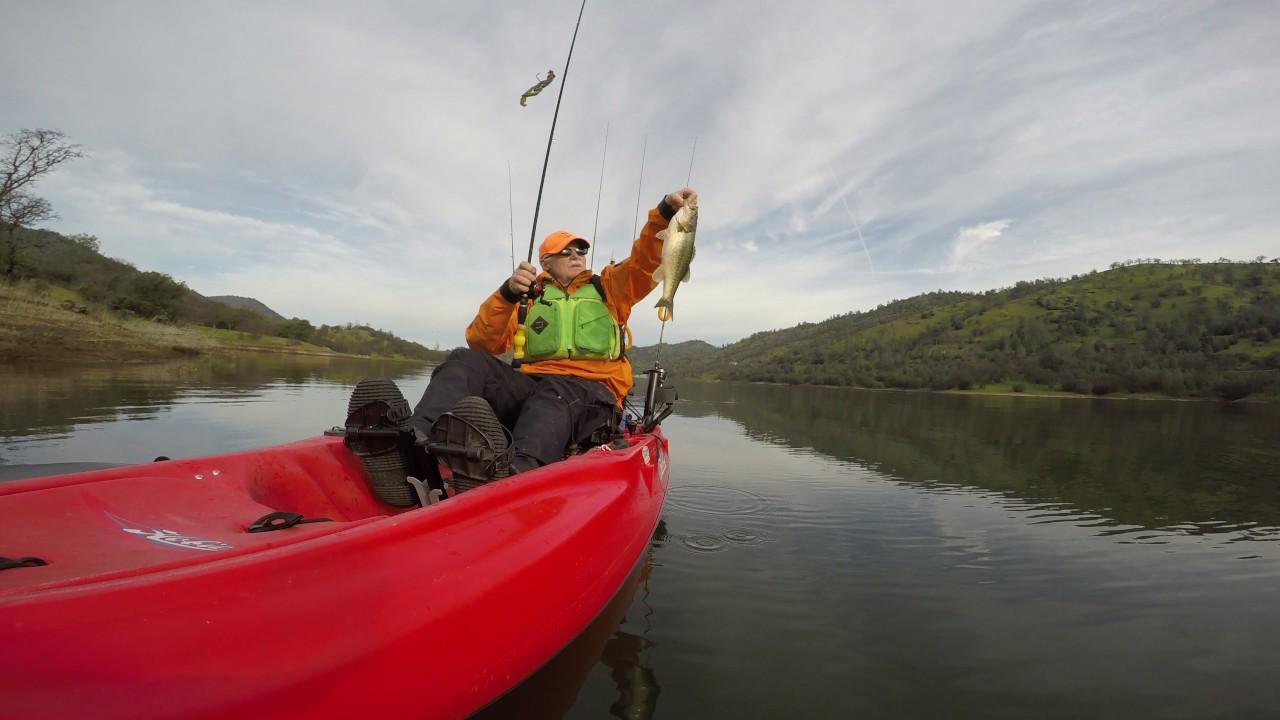 Pre spawn bass fishing at lake don pedro youtube for Lake don pedro fishing report