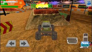 Monster Truck Arena Driver - 4x4 Car Racing Games - Videos Games for Children /Android HD #3