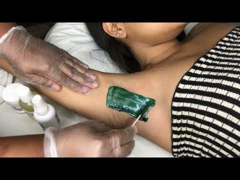 Underarm Waxing Tutorial Step by Step