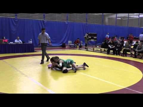 2015 Canada West Championships: 55 kg Laryssa Barry vs. Vicki Busch