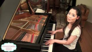 Flo Rida - Who Dat Girl ft. Akon | Piano Cover by Pianistmiri
