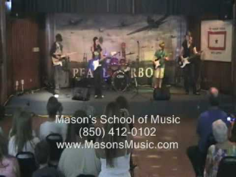 Tallahassee Mason's School of Music Rock Bands and Music Lessons