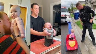 Funny Dads Who Have Nailed Parenting 2021   Baby and Daddy Funny Moments