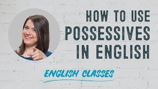 How to use possessives in English | ABA English