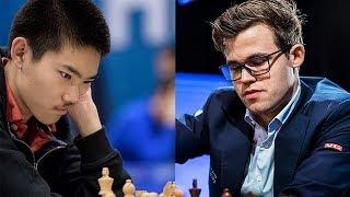 Шахматы. Магнус Карлсен - Джеффри Шонг: игра на мат в исполнении Чемпиона!