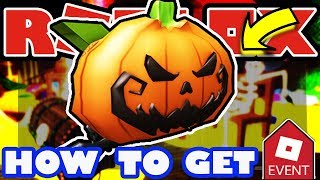 [EVENT] How To Get the Pumpkin Backpack - Roblox 2018 Halloween Tutorial - Jack O' Lantern Book Bag