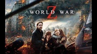 Джерри с семьей спасается от зомби ... отрывок из фильма (Война Миров Z/World War Z)2013
