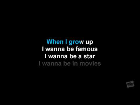 When I Grow Up in the style of The Pussycat Dolls karaoke video
