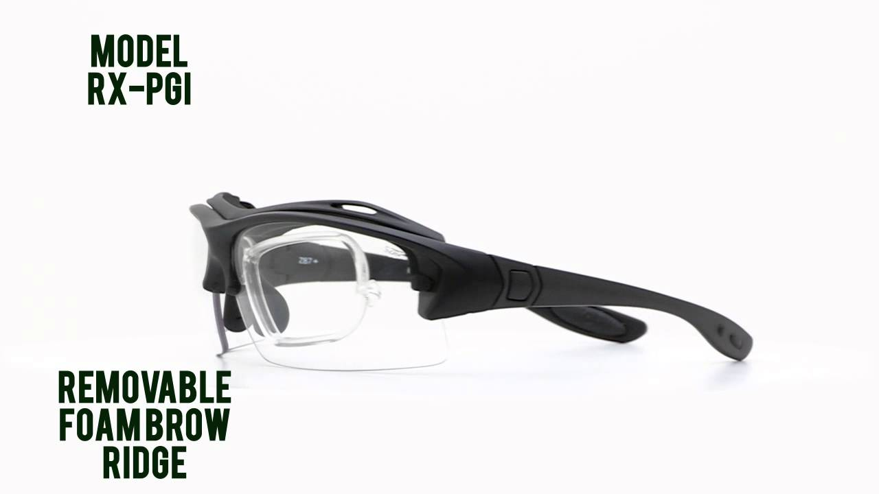 50d410cacc Prescription Safety Glasses  RX-PGI - YouTube