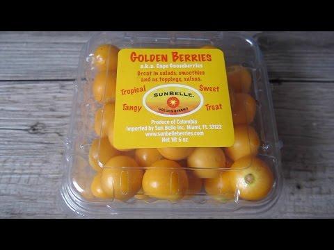 Golden Berries aka Cape Gooseberries Taste Test And Review