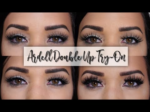 3054356df48 Ardell Double Up Lashes Demo/Try-On! - YouTube
