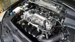 Раскоксовка двигателя, промывка,  замена масла, свечей, фильтров, автомобиль Тоyota Corolla 2008