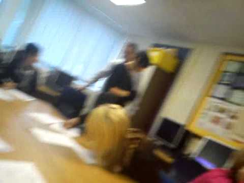 Teacher gone wild at preston college