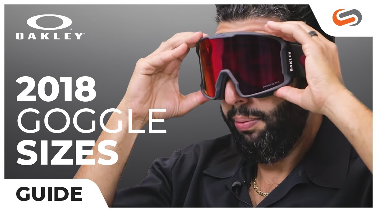 42ac993145cf 2018 Oakley Goggle Size Guide - YouTube