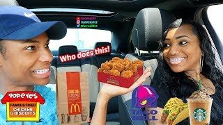 Download Letting the Person In Front Of me Decide What I Eat with Darius Mp3 and Videos
