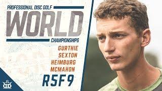 2019 Pro Worlds   MPO3 Final Round F9   Gurthie, Sexton, Heimburg, McMahon