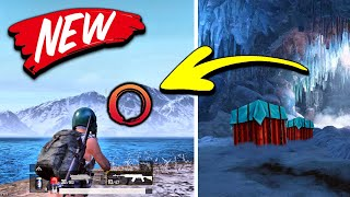 top 10 NEW Secret Locations in PUBG Mobile! (New Update)