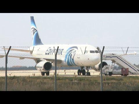 """Secuestro de avión egipcio """"no está relacionado"""
